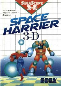 Space Harrier 3D on Sega Master System