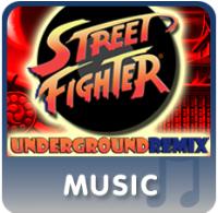 Street Fighter Underground Remix Album Artwork