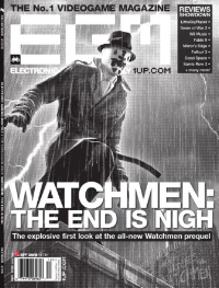 The End Is Nigh Videogame Prequel EGM Cover