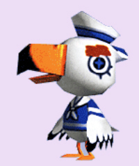 Animal Crossing Gulliver Character Artwork