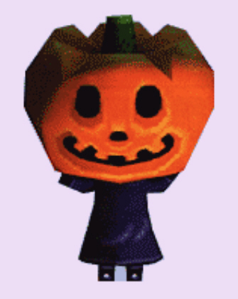 Animal Crossing Jack the King of Halloween Character Artwork