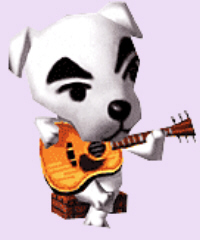 Animal Crossing K.K. Slider Character Artwork