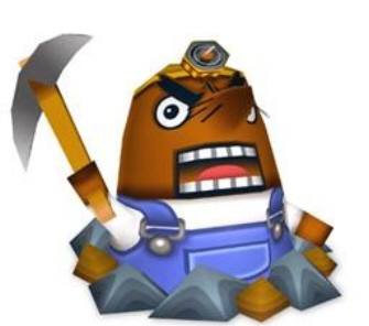 Animal Crossing Mr. Resetti Character Artwork