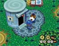 Animal Crossing Police Station Screenshot