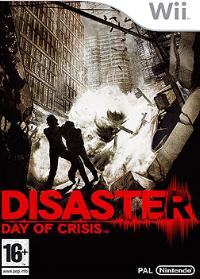 Day of Crisis European Wii Boxart
