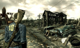Fallout 3 (screenshot) is one of this year's biggest games