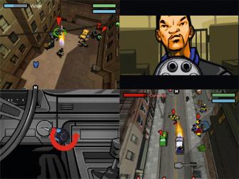 Chinatown Wars DS Screenshot Montage