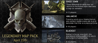The original banner advertising the Halo 3 Legendary Map Pack