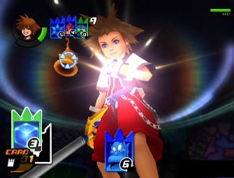 Kingdom Hearts Re: Chain of Memories PS2 screenshot