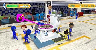 Pit Crew Panic WiiWare screenshot