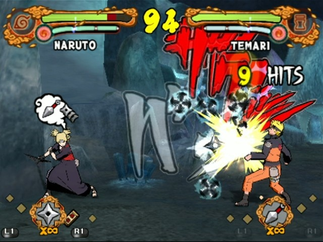 Official Ultimate Ninja 4: Naruto Shippuden character list