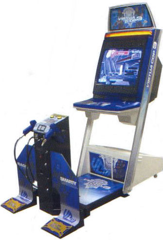 Virtua Cop 3 in arcades