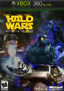 Halo Wars 2 Xbox 360 fake boxart
