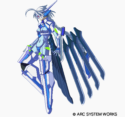V 13 Blazblue  Character Discussion  V-13Nu