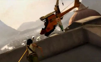 Jade rooftop chase in Beyond Good and Evil 2