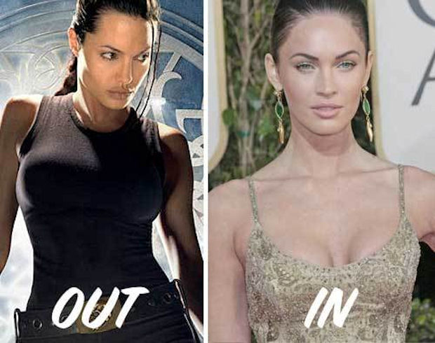 Megan Fox may replace Angelina Jolie as Lara Croft