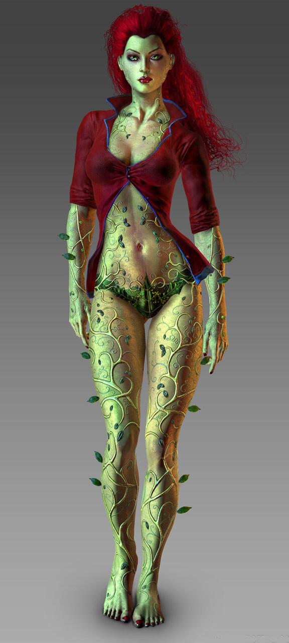 batman ivy