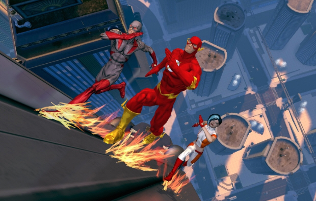 the flash character joins dc universe online cast Beta thoughts on DC Universe Online