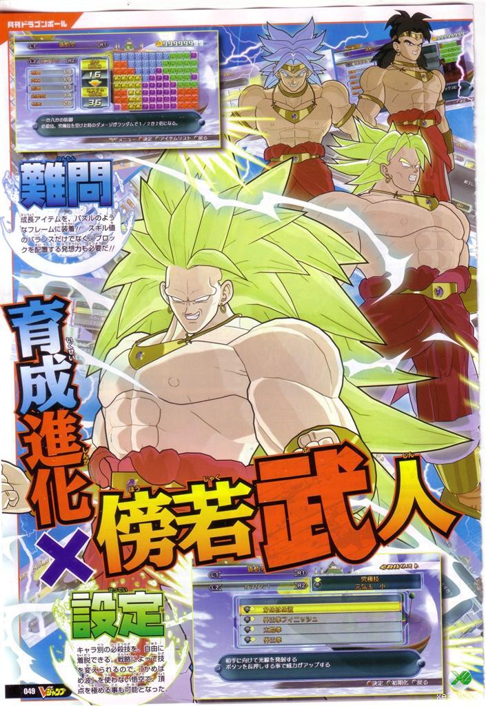 Super Saiyan 3 Broly (game-exclusive) — Unlockable