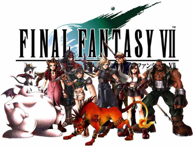 final fantasy vii. Final Fantasy VII logo and