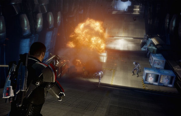 I typed Mass Effect 3 in to Google Images, but this could easily be Mass Effect 2. It's hard to tell.