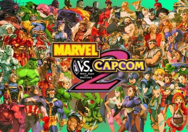 Official Marvel vs Capcom 2 character - 258.3KB