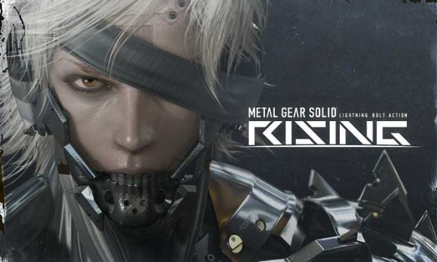 Metal Gear Solid: Rising artwork. Xbox 360-exclusive starring Raiden