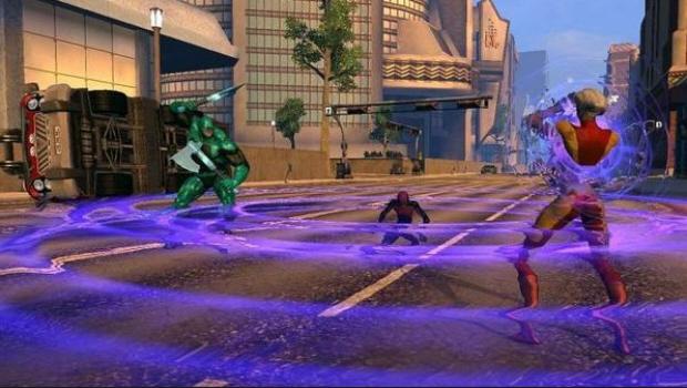DC Universe Online gameplay screenshot