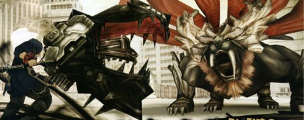 God Eater PSP screenshot