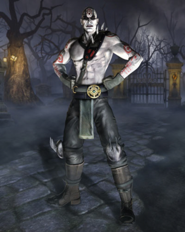 mortal kombat characters. Mortal Kombat vs.