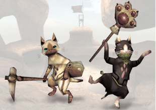 Monster Hunter Freedom Unite DLC cats