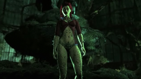 batman poison ivy pictures. Poison Ivy (voiced by Diane