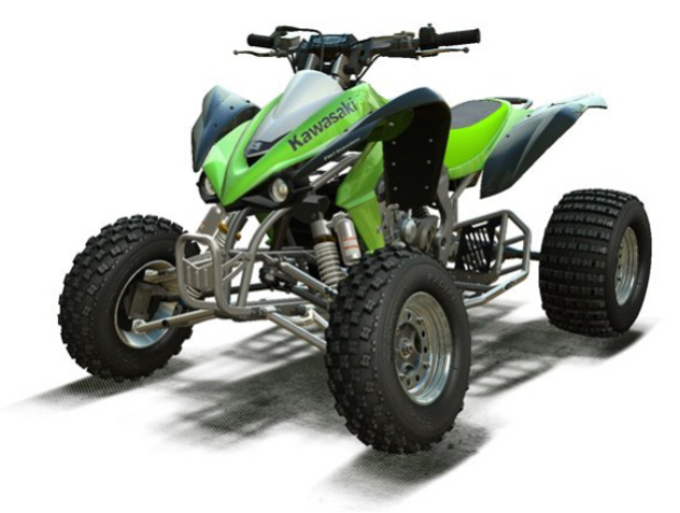 car word designs kawasaki quad bikes. Black Bedroom Furniture Sets. Home Design Ideas