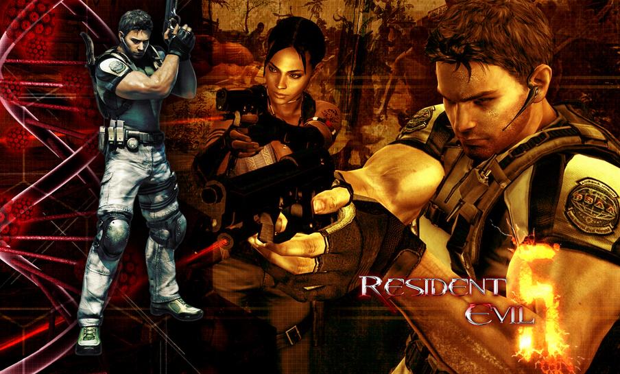 wallpaper pc. Resident Evil 5 PC release