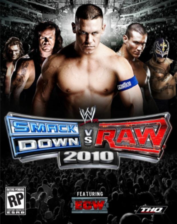 WWE Smackdown vs Raw 2010 box artwork