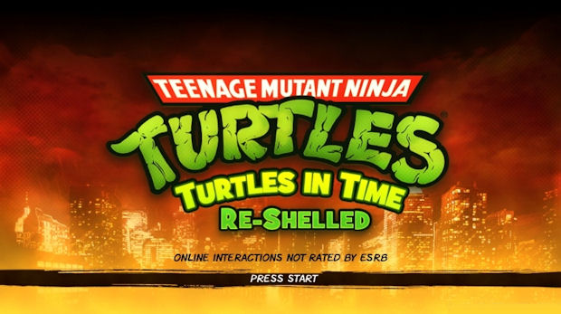On Xbox Live Arcade today: Teenage Mutant Ninja Turtles: Turtles in Time Re-