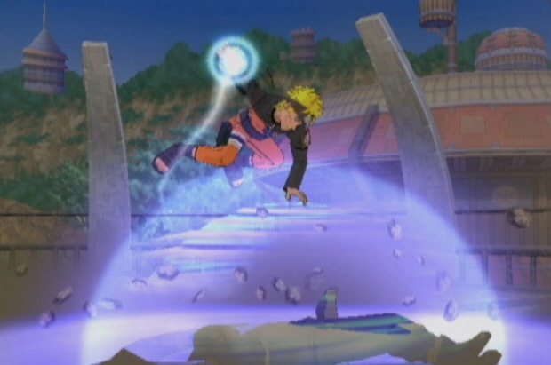Naruto Shippuden: Clash of Ninja Revolution 3 Wii screenshot
