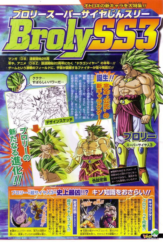 SS3 Broly pictures