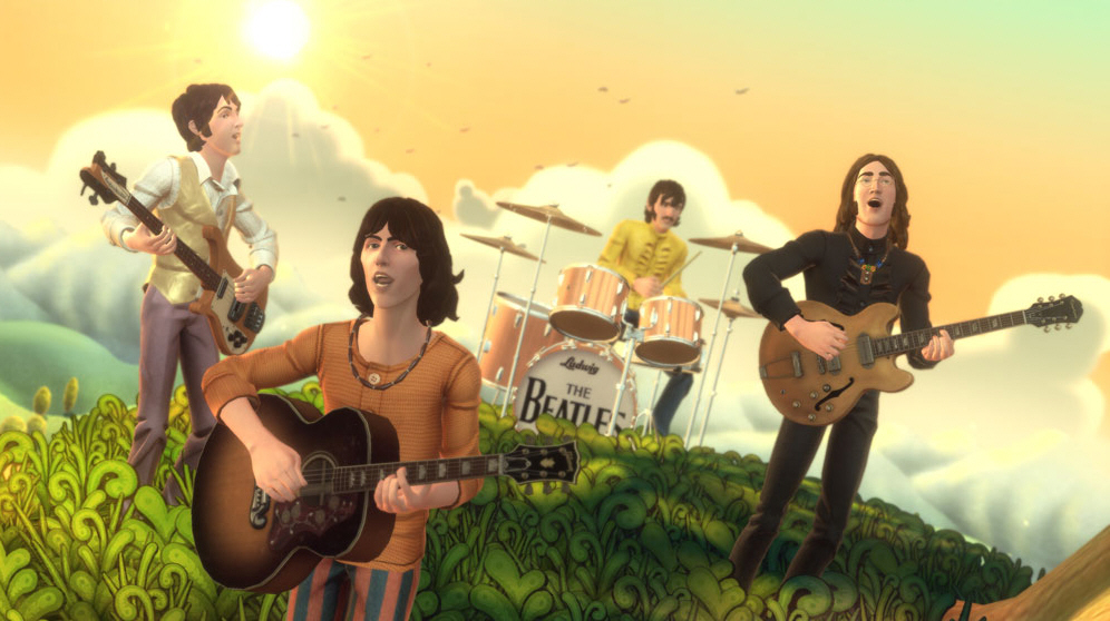 wallpaper rock. Full The Beatles Rock Band