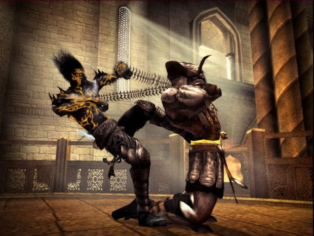 Dark Prince of Persia combat screenshot