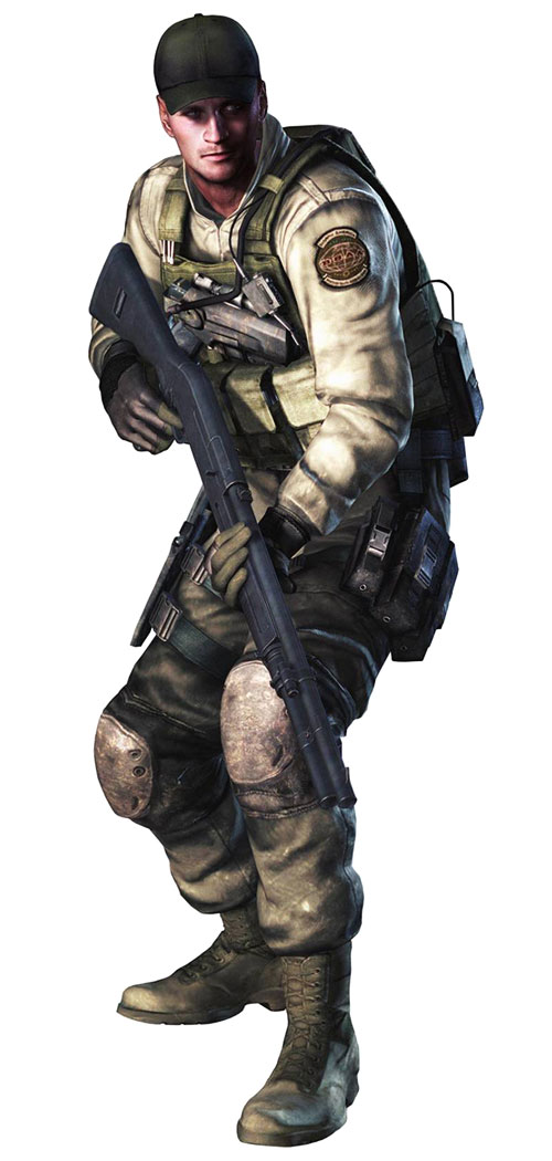 Resident Evil 5 Characters List