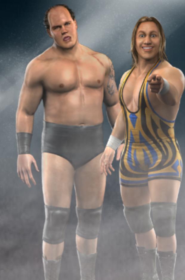 Luchadores de RAW