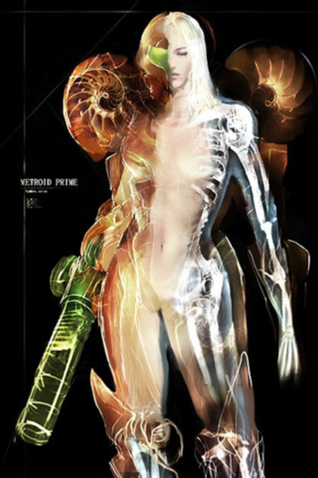 naked wallpaper. Naked Samus Metroid Prime