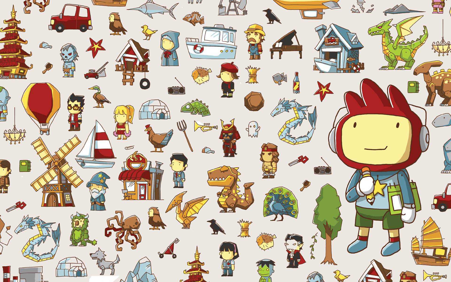 Don't forget to check out our Scribblenauts dictionary list to see all the