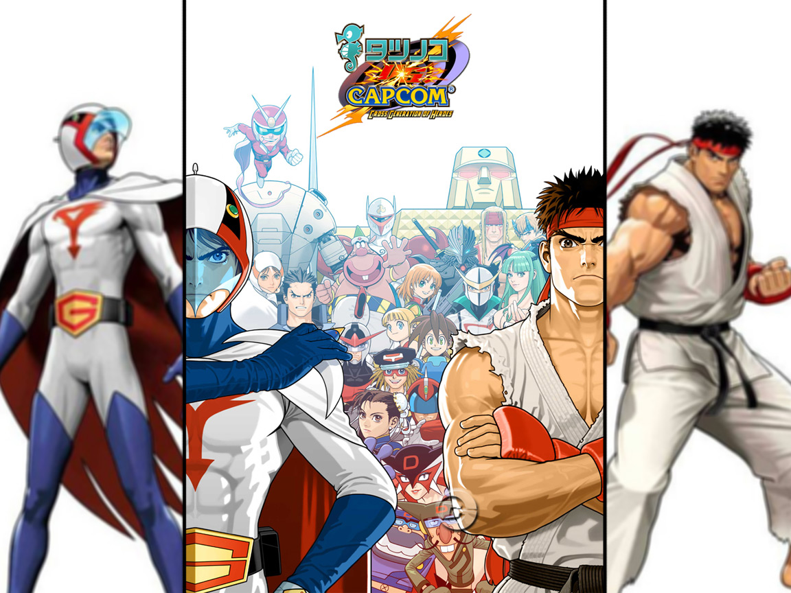 Official Tatsunoko VS Capcom Ultimate All-Stars character list (Wii)