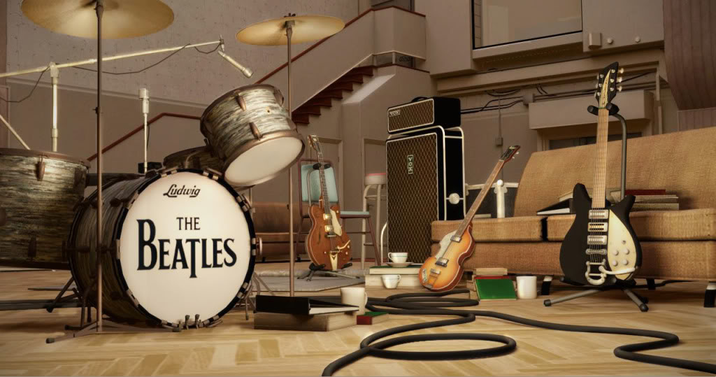 Beatles: Rock Band wallpapers. Click on each thumbnail for the wallpaper