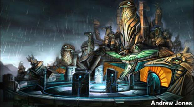 Artifact Temple Metroid Prime Artwork Concept