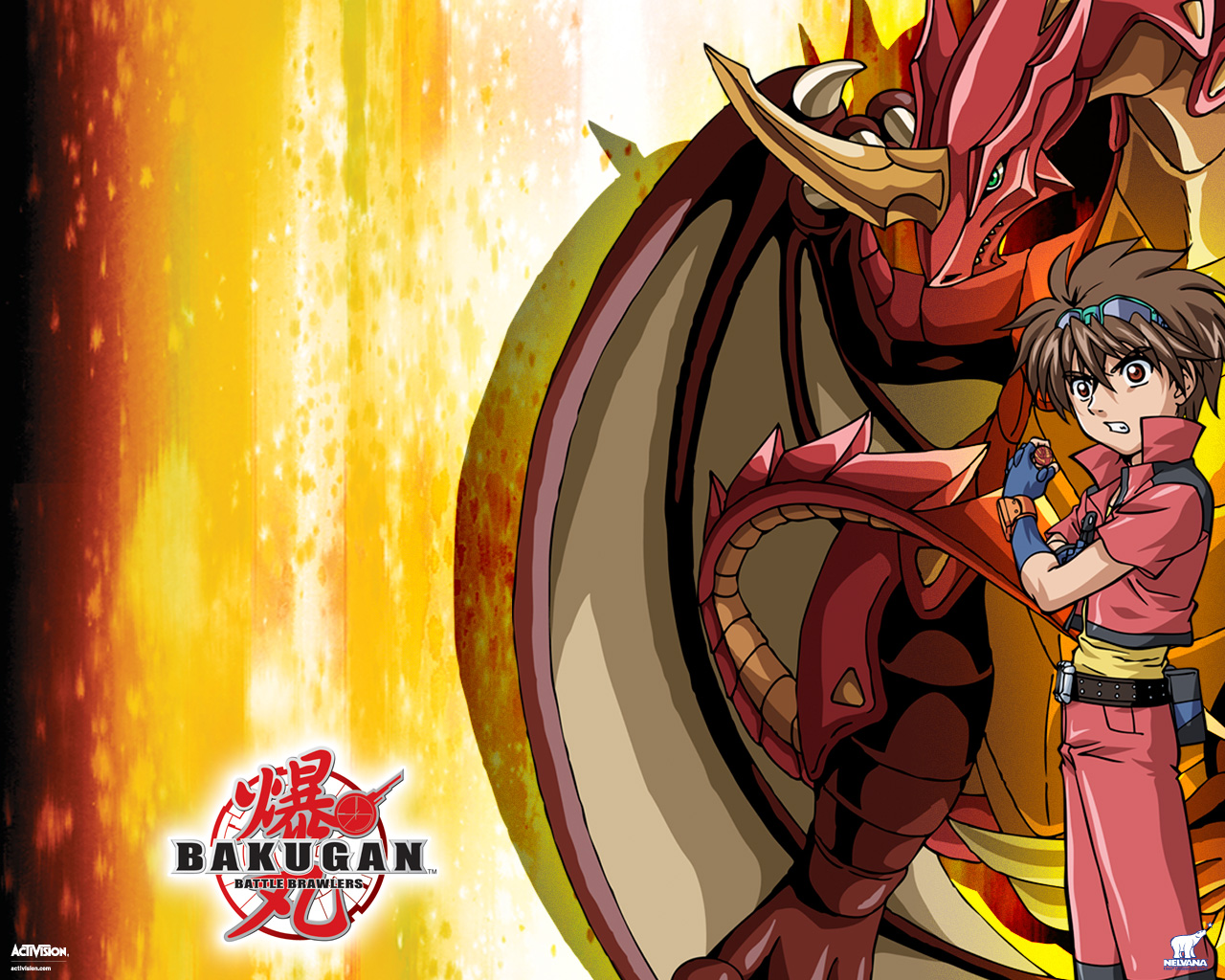 bakugan battle brawlers wallpaper videogame
