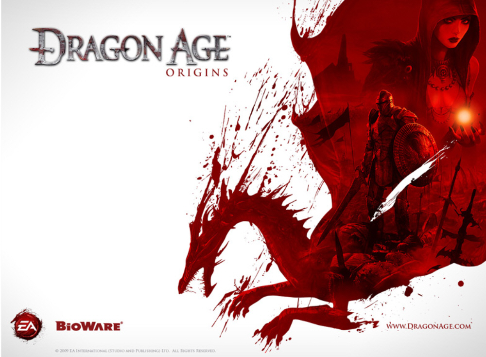 Desktop Wallpaper Dragon. Dragon Age Origins wallpaper