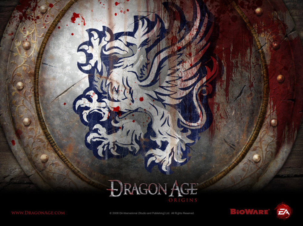 dragon age background. Dragon Age Origins wallpaper